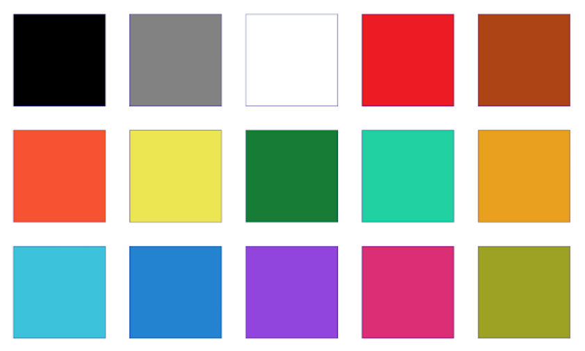 OneNote for Android color palette